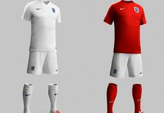 England jersey kit soccer world cup 2014