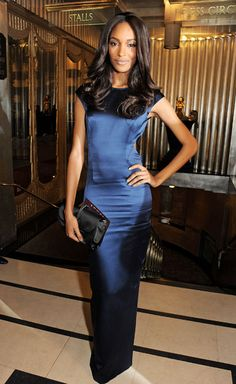 British Fashion Awards 2012 - Jourdan Dunn in Topshop