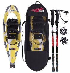 Redfeather Ladies Pace Snowshoe Kit with Poles (Yellow, 25) by Redfeather. $162.91. USA Made precision snowshoe designed for long term use.