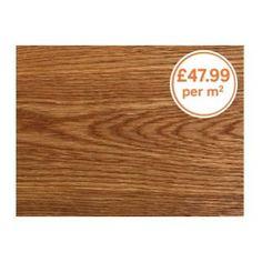 Home of Style - Solid Wood Dark Rustic Oak Flooring from Homebase.co.uk