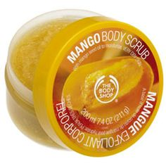 Mango Body Scrub $20 The Body Shop (leaves my skin feeling like butter and it smells amazing, the scent lingers long after you rinse off in the shower)