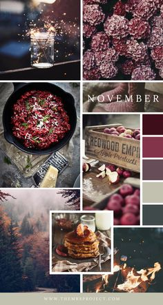 {Monthly Moodboard} Welcome November Welcome November, Hello November, Coperate Design, November Images, November Wallpaper, Fall Vignettes, Color Collage, Butterfly Wall Art, Autumn Aesthetic