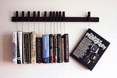 Étagère à livres suspendus