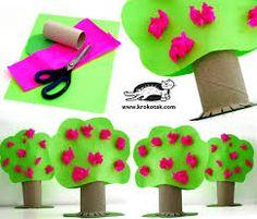 rolos de papel higienico reciclagem - árvore