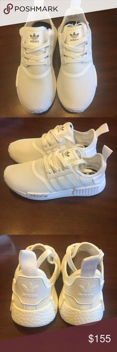 White Adidas NMD Brand New and never worn! Only tried on. Comes with Box, but it is a little smushed from being in my closet. Size 6.5 but fit like a 7. Purchased from Foot Locker at the Woodland Hills Mall in Tulsa Oklahoma. adidas Shoes Athletic Shoes https://twitter.com/faefmgianm/status/895095114724327424