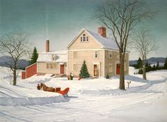 Home for Supper ~ by Charlotte Joan Sternberg
