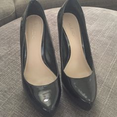 f8334b09a63 Black Aldo Heels They re in good condition