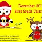 December 2012 Calendar has 36 pages of fun activities including a calendar, weather graph, counting the number of days in school, color words, coun...