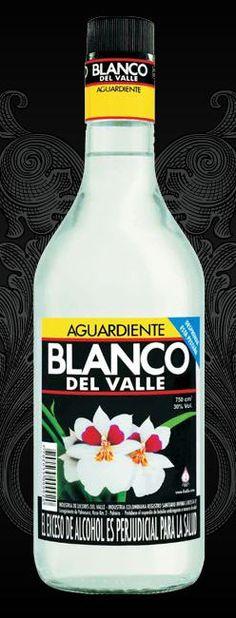 Aguardiente Blanco del Valle