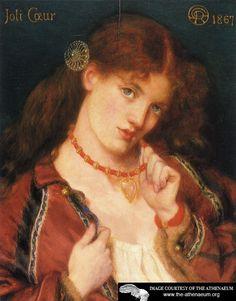 Joli Coeur  Dante Gabriel Rossetti