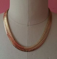 GABY Gold Necklace Choker by 89andLuxe