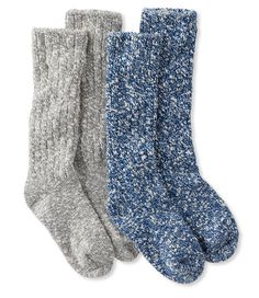 Cotton Ragg Camp Socks,Two-Pack  ll bean  16.99/