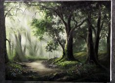 Watch Kevin Hill paint this stunning light filled forest. To Paint like Kevin, go to www.paintwithkevin.com