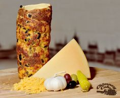 Here at Kurtos-kalacs HQ we created the savoury version in Since then our vendors imagination has simply run wild! This cheese, olive and chili version is a best seller at our customer in Saudi Arabia's Chimney cake cafe. Kurtos Kalacs, Cake Oven, Chimney Cake, Cake Cafe, Czech Food, Food Kiosk, Czech Recipes, Arabic Food, New Flavour