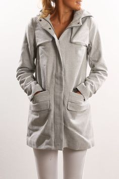 Paddington Coat Grey