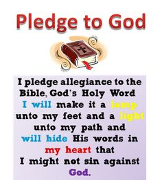 graphic regarding Pledge to the Bible Printable named 9 Ideal Christian Flag and Pledge pics inside 2017 Christian