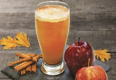 Bourbon Apple Beer Cocktail with fall flavors for a warm up when the air gets crisp.
