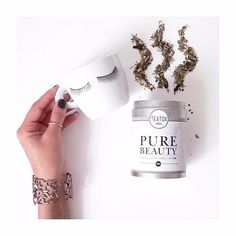 #GoodMorning #beautiful, start your day with the #delicous PURE BEAUTY tea like #happycustomer @mesarticlesdujour   #inspiration #regram #delicous #happy #love #beauty #jewelery #healthy #healthylifestyle #healthychoice #fitspo #berlin #teatox #art #design #fashion