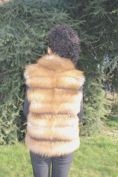 gilet volpe Pelliccia fox giacca | Abbigliamento e accessori, Donna: abbigliamento, Cappotti e giacche | eBay!