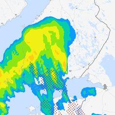 Sadetutka ja ukkostutka — Etelä-Suomi - Supersää
