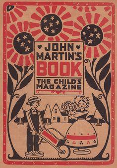 John Martin's Book July 1920 Title page by katinthecupboard