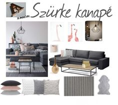 Get the style - grey sofa