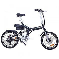 Cyclamatic CX4 Pro Dual Suspension Foldaway E-Bike Electric Bicycle Black http://www.safetygearhq.com/product/trending-products/electrical-bikes/cyclamatic-cx4-pro-dual-suspension-foldaway-e-bike-electric-bicycle-black/
