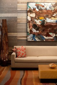 One of the 40 pieces of original Pacific Northwest art at Four Seasons Hotel Seattle. (Photo credit: MirrorMirror.typepad.com)