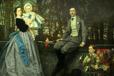 Paris - Musée d'Orsay: James Tissot's Le marquis et la marquise de Miramon et leurs enfants