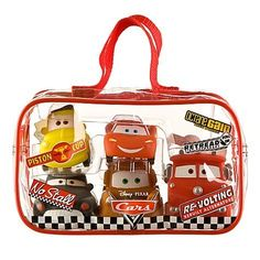 Disney Cars 5 Piece Bath Toy Set Includes Lightning McQueen, Tow Mater, Sheriff, Luigi and Red Fire Truck by Disney. $36.99