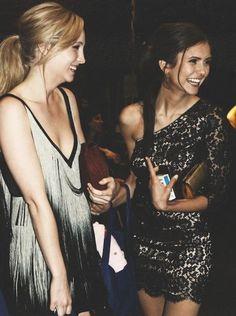 Elena Gilbert x Caroline Forbes - Nina Dobrev x Candice Accola