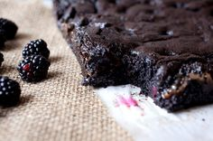 These Salted Caramel Blackberry Brownies Are Pure Magic!