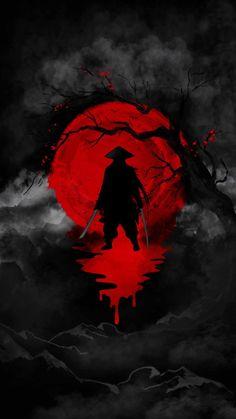 Blood Ninja Warrior - IPhone Wallpapers