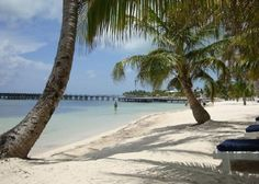 "San Pedro, Ambergris Caye.San Pedro is ""La Isla Bonita"" that Madonna made famous. Now it's a tourist mecca, but still boasts great beaches and plenty of dive shops so you can enjoy the sun, sand, and sea. Plan a side trip to Caye Caulker while you're here; it is less developed and more laid back, and has its own splendid swimming areas."