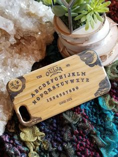 Ouija Board bamboo wood iPhone case for iPhone 6 iPhone 6s
