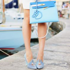 adb5f23ffa4 Blue  jkdetails Hermes Kelly, Hermes Bags, Photo And Video, Hermes Kelly Bag