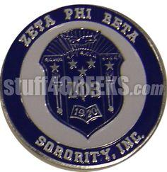 Zeta Phi Beta Round Crest Car Emblem  Item Id: ZFB-DECAL  Retail Price: $19.00  You Save: $10.00  Price: $19.00  Your Price:  $9.00