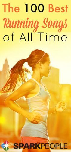 Pump up your workout playlist with these running songs--all are the perfect pace for your runs! | via @SparkPeople #fitness #workout #run #music #motivation #race