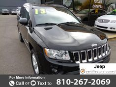 2013 *Jeep*  *Compass* *4WD* *4dr* *North*  40k miles Call for Price 40251 miles 810-267-2069  #Jeep #Compass #used #cars #CARiteofFlint #Flint #MI #tapcars