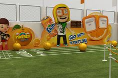 Fanta fun event in egypt 2013 Sports Marketing, Event Marketing, Display Design, Store Design, Fun Events, Experiential, Event Styling, Photo Booth, Soccer
