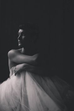 Black and White Beauty in a tutu dress.Fine Art Women's Portraiture Photography By Novella Beauty Portrait, Studio Portraits, Female Art, Beautiful Images, Portrait Photography, Photoshoot, Fine Art, Statue, Black And White