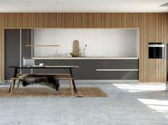 Leg med detaljerne i Tinta Grey og få et personligt køkkenrum i et elegant og enkelt design. Hos Kvik har vi et stort udvalg af stilfulde køkkener. Se mere… Cabinet, Elegant, Storage, Kitchen, Inspiration, Furniture, Design, Home Decor, Clothes Stand