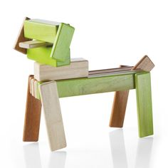 Curiously attractive wooden toys for your seriously creative kids.