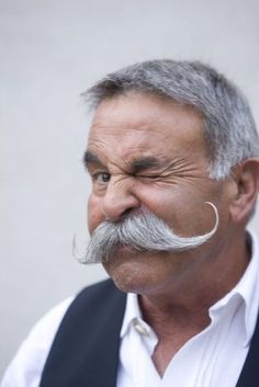 old men and mustache's. omg. delicious.