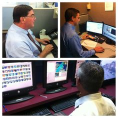 John McGowan is busy piecing together his story.   Michael Kasiborski is editing video for the show.  Tom O'Hare is checking on the local radars and forecasts for northern Michigan. Join us on 9&10 News at 5 and 6.