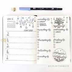 @girlwithabujo Already finished my spread for next week! The sun over here is making me very productive
