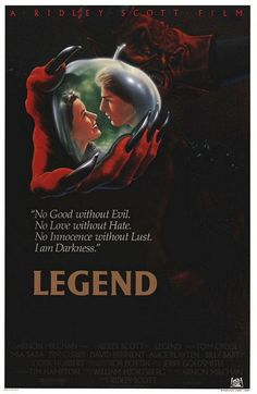 Legend directed by Ridley Scott #film #fantasy #unicorn