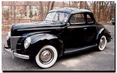 1940 ford coupe for my wedding! <3