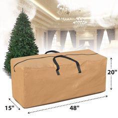 Pre Lit Xmas Trees, 12 Ft Christmas Tree, Plastic Christmas Tree, Christmas Games, Christmas Tree Storage Tote, Tan Bag, Xmas Decorations, Xmas Gifts, Bag Storage