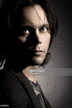 Ville Valo, singer of HIM, shot in London 9th July 2007. (Photo by Steve Brown/Photoshot/Getty Images)